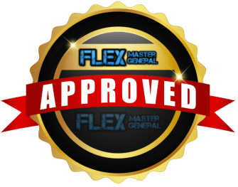the Flex Master General seal of approval