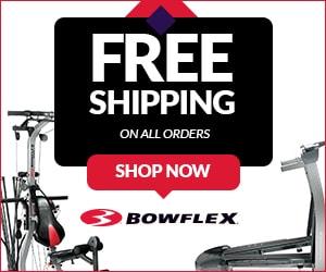 free shipping at bowflex