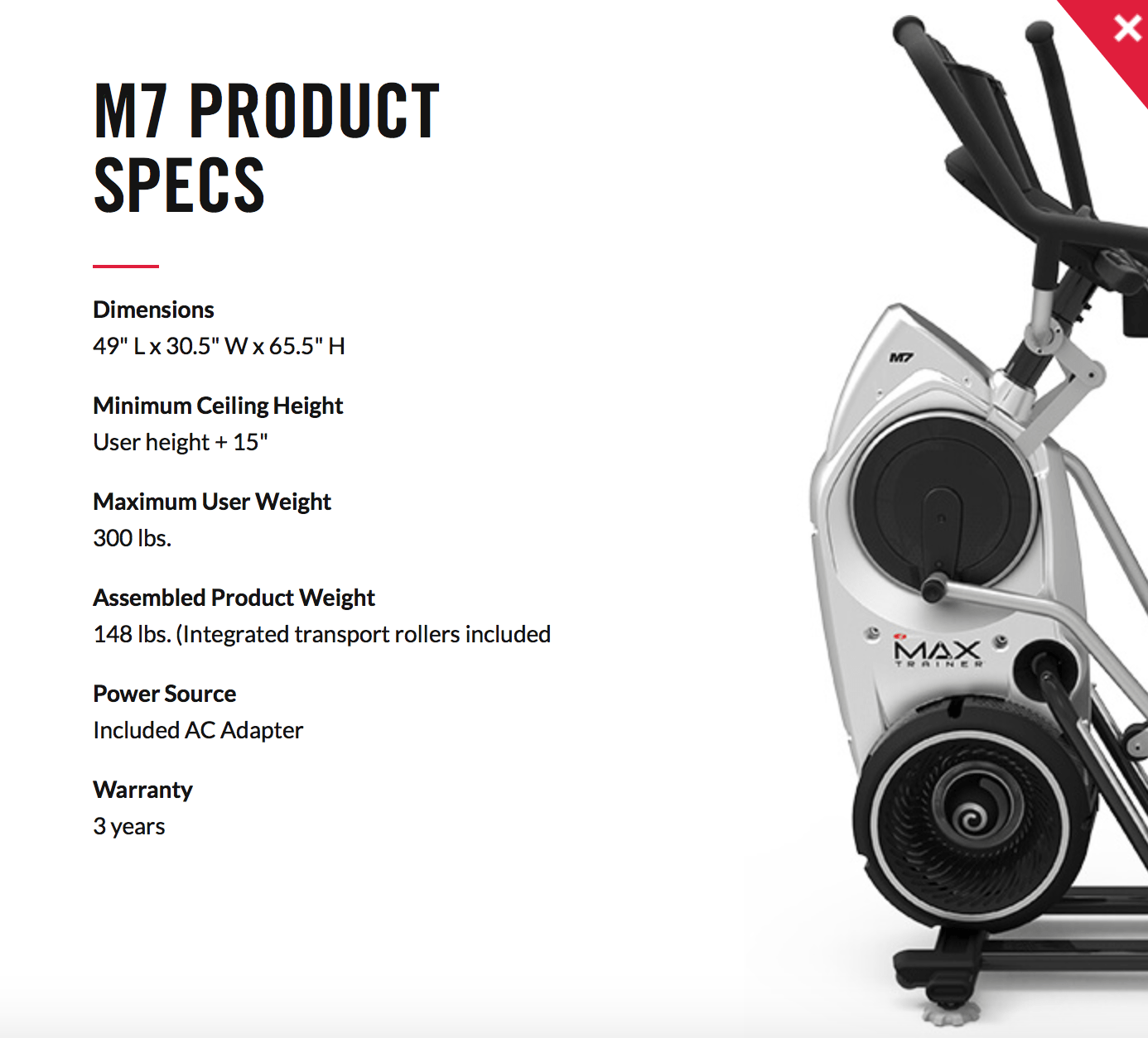 How Does the Bowflex Max7 Work?