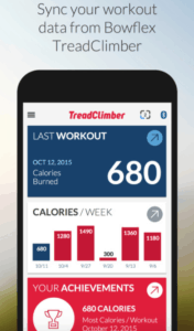 the bowflex treadclimber app helps you keep track of your workouts