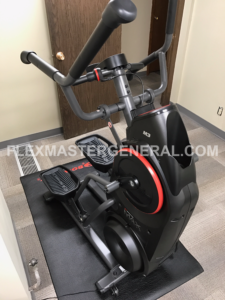 a side profile of my bowflex max trainer
