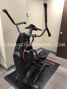 the Bowflex Max Trainer in my office