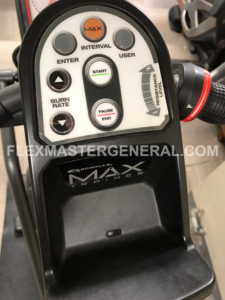 the Max Trainer M3 display panel