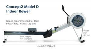 concept2 dimension and specs