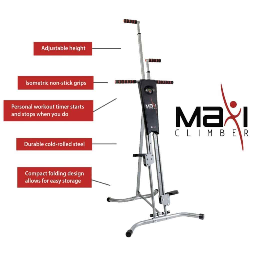 the features of the maxi climber