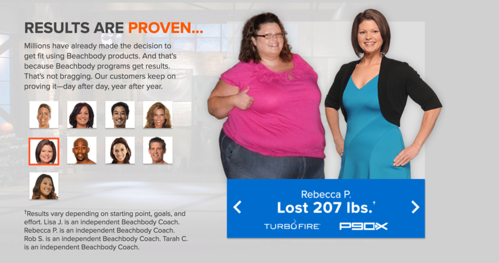 Beachbody On Demand before and after pictures