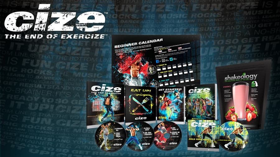 the brand new cize workout program