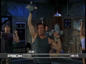 tony working out