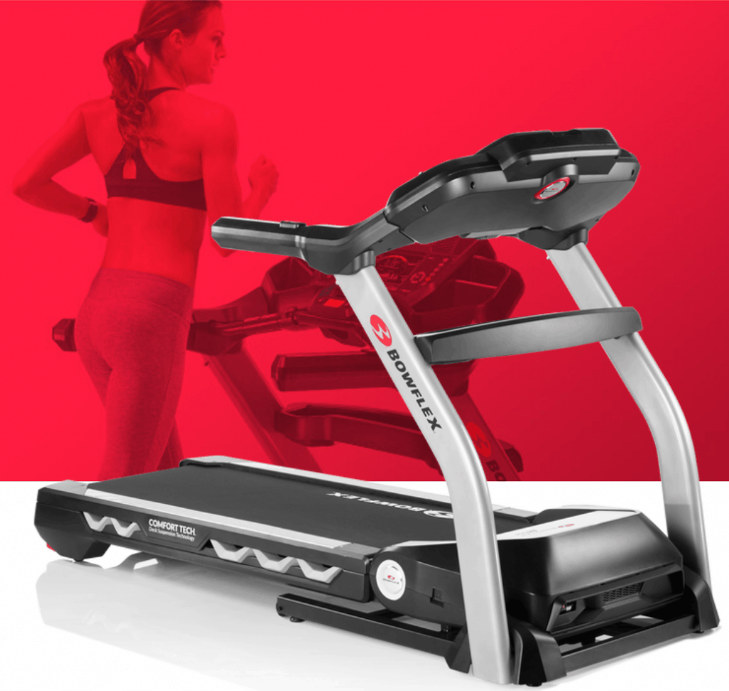The Bowflex BXT216 treadmill