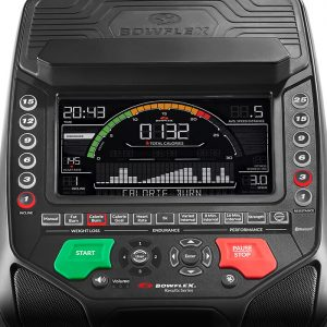 The Bowflex elliptical display console