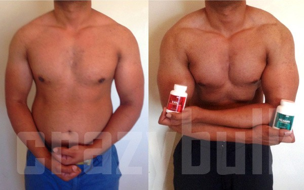 this guy used them for both cutting and bulking