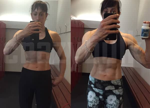 before and after results of crazy bulk for women