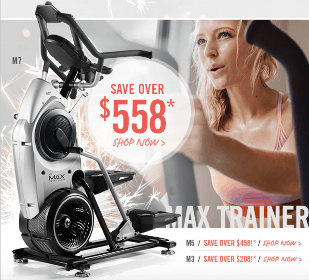 the latest discounts available for the max trainer