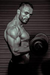 a male bodybuilder