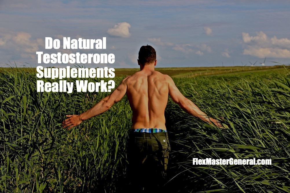 do natural testosterone supplements really work