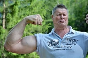 a guy with very high testosterone levels