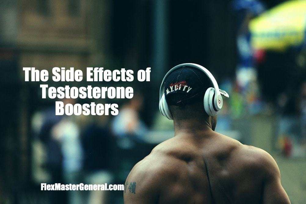 testosterone booster side effects