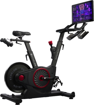 Echelon is our best exercise bike for weight loss