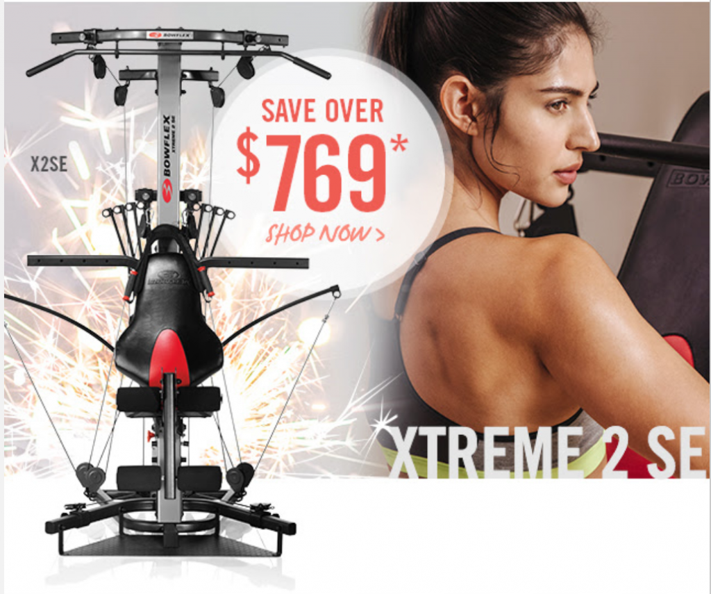 Heres' the Xtreme 2SE one of the latest home gyms from Bowflex