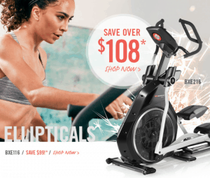 the new bowflex ellipticals