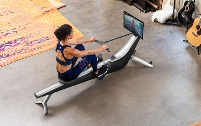 top rowing machine