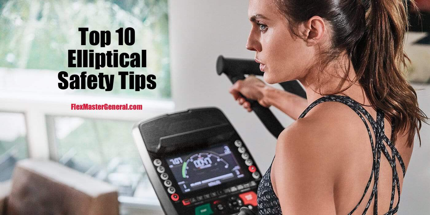 how to be safe on an elliptical