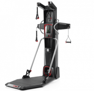 a bowflex hvt with a white background