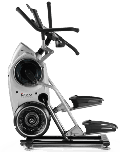 side view of the m7 bowflex max trainer