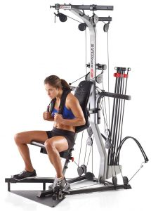 a fitness model uses the xtreme 2 se