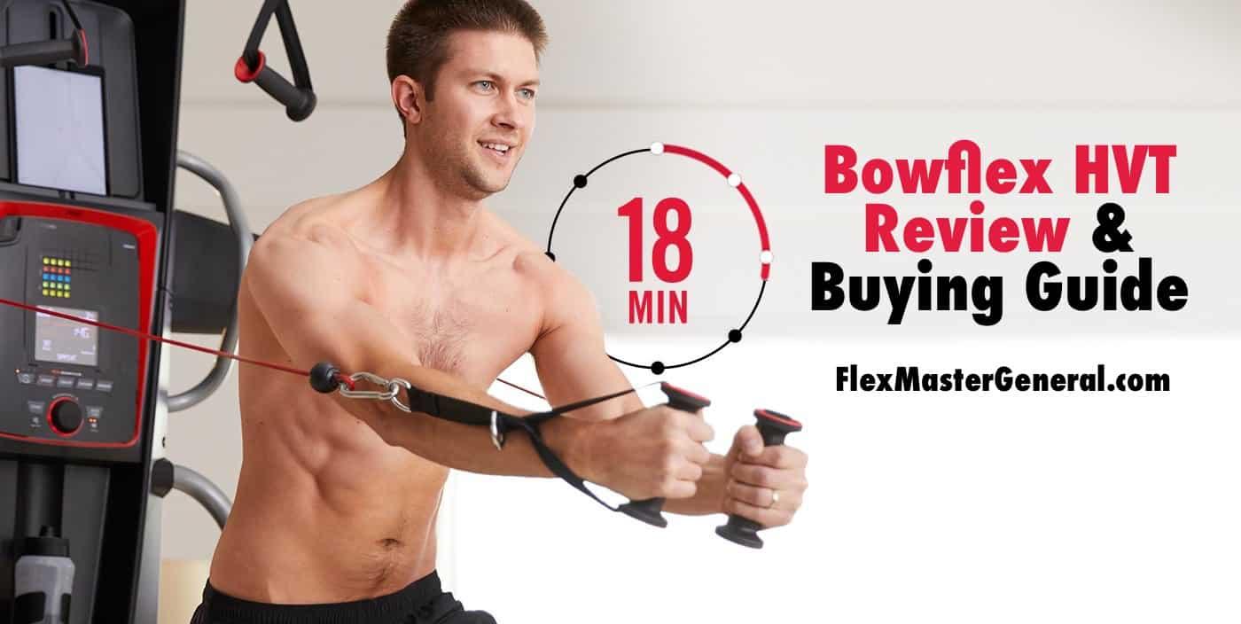 a man reviews the bowflex hvt plus for a powerful 18 minute workout