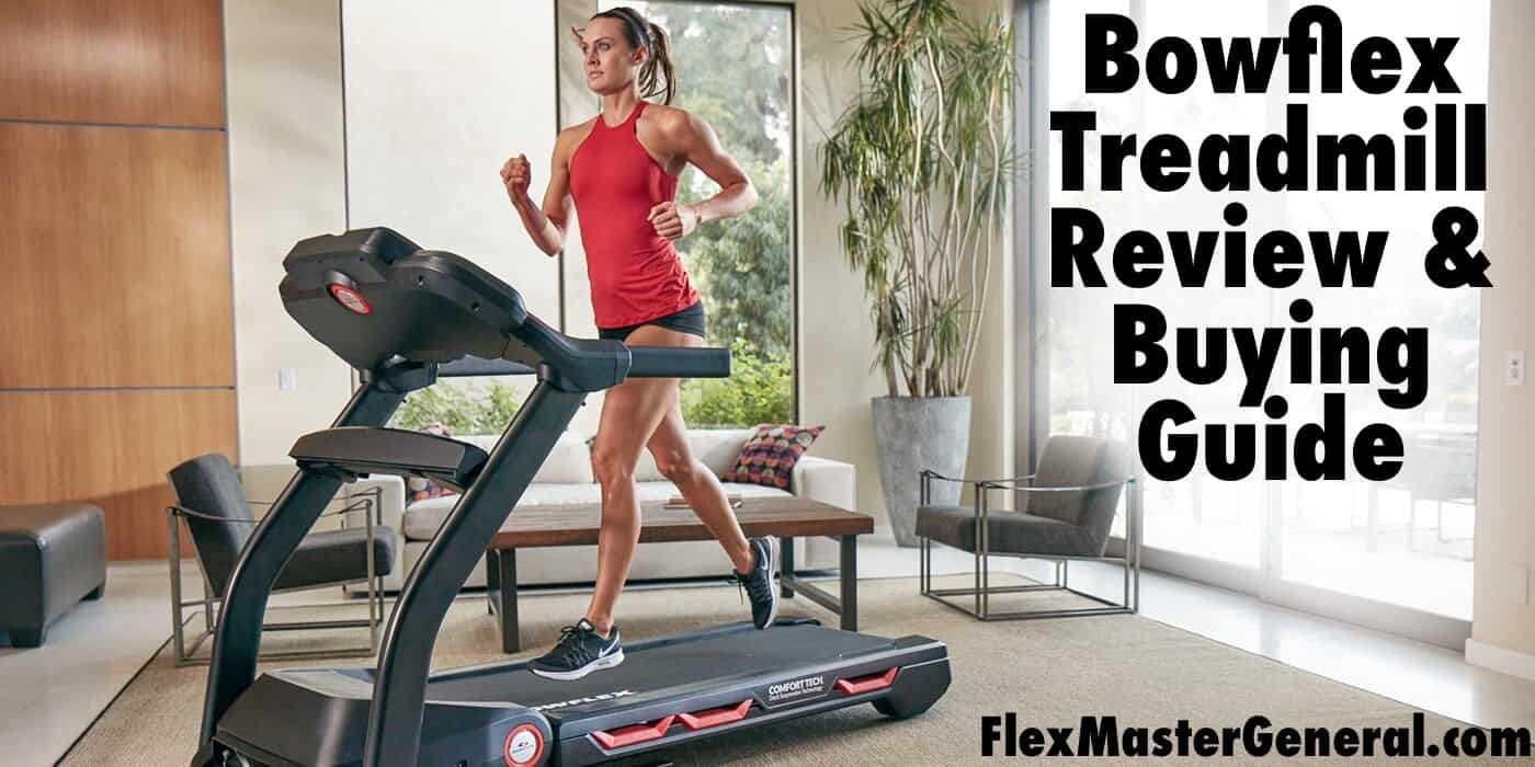 a woman uses the new bowflex treadmill in her living room