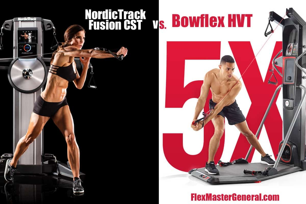 models use both the fusion cst and the bowflex hvt to see which one is better
