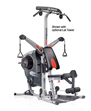 the revolution with the optional lat tower installed