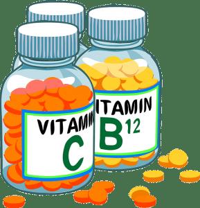different bottles of vitamins