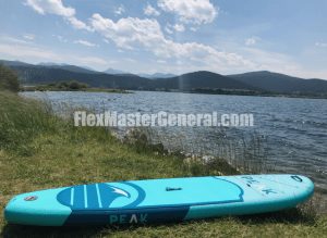 my stand up paddle board near the lake