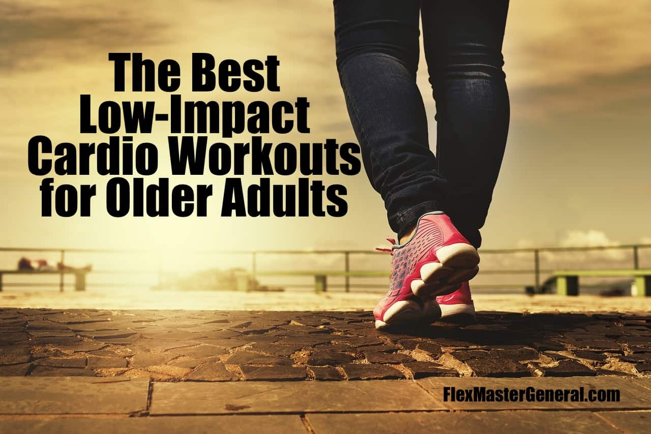walking is one of the best low impact workouts for older people