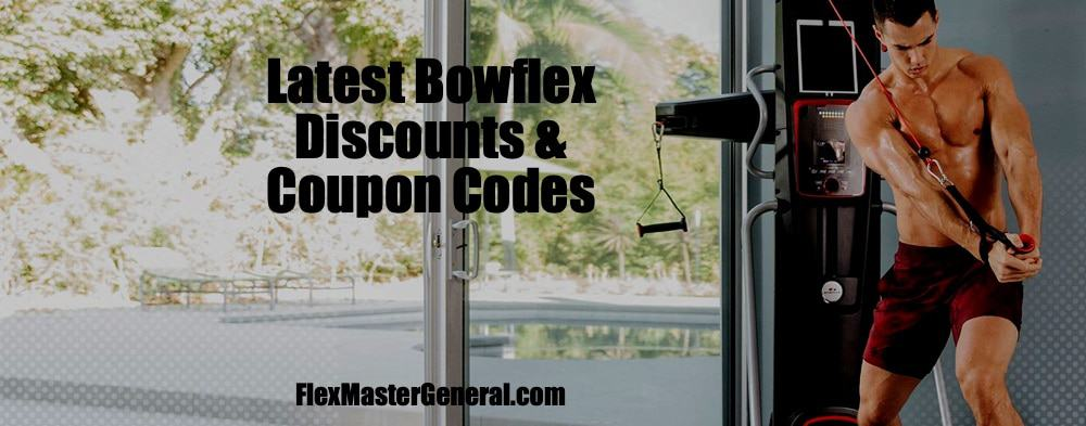 bowflex coupons and promo codes