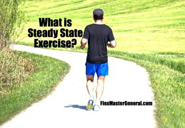 a jogger does a steady state exercise workout