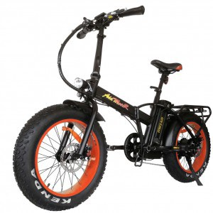addmotor fat tire folding ebike