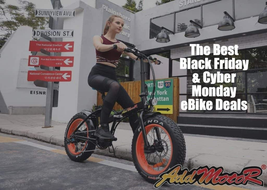 Electric Bike Black Friday Cyber Monday Christmas Deals