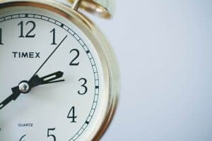 a clock used to track intermittent fasting times