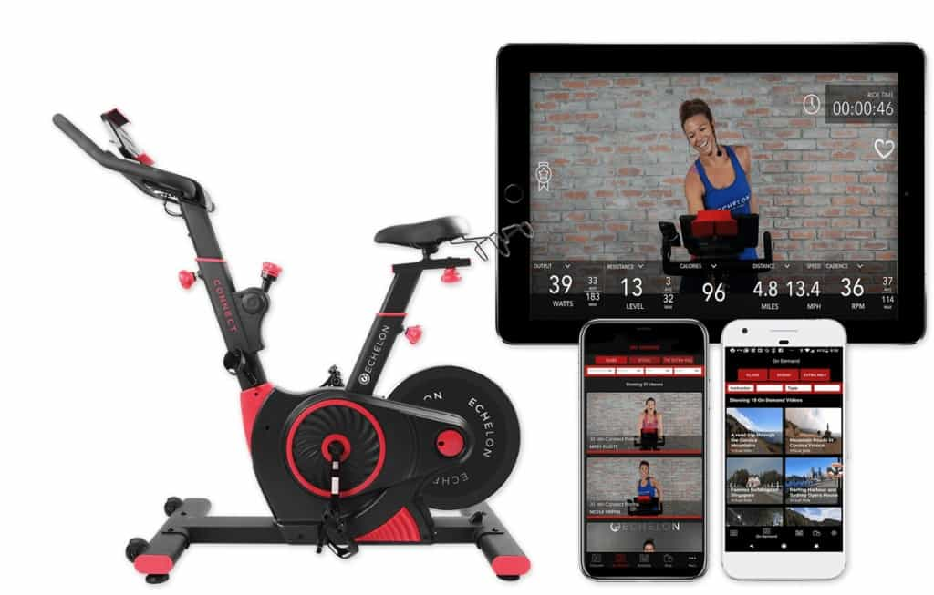 echelon studio cycle and live classes