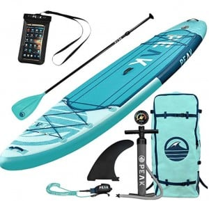 Peak inflatable stand up paddle board deals