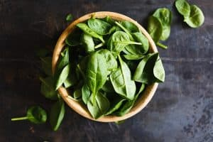 Eating healthy foods like spinach can help maximize your fasting results