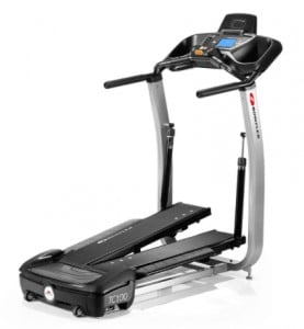 Side view of the Bowflex TC100
