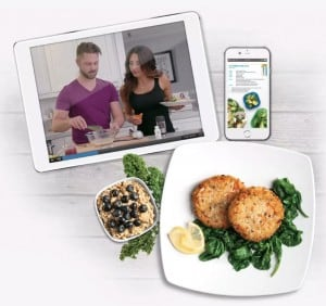 The service also comes with fully customizable meal plans