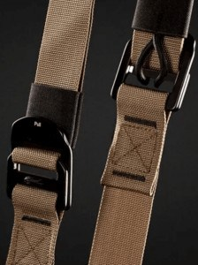 a side shot of the durable straps