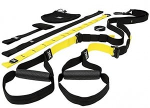 the TRX pro 4 suspension trainer