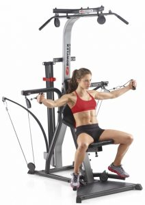 a woman does pectoral flys on the Xtreme 2SE