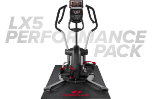 front view of the bowflex lateralx